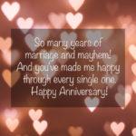 1 Wedding Anniversary Wishes Pinterest