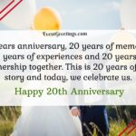 20th Wedding Anniversary Message Tumblr