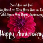 25th Anniversary Wishes For Mom And Dad Facebook
