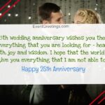 25th Anniversary Wishes Pinterest