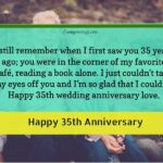 35th Wedding Anniversary Wishes