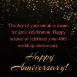 40th Anniversary Quotes And Sayings Pinterest