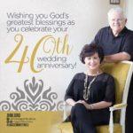40th Wedding Anniversary Wishes Twitter