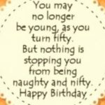 50th Birthday Quotes Facebook