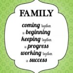A Family That Works Together Quote