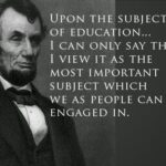 Abraham Lincoln Quotes On Education Facebook