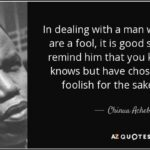 Achebe Quotes Pinterest