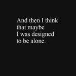 Alone Depression Quotes