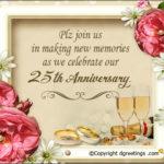 Anniversary Invitation Quotes Pinterest