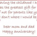 Anniversary Wishes Quotes For Parents Twitter