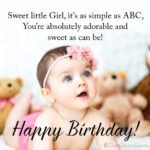 Baby Birthday Wishes Facebook