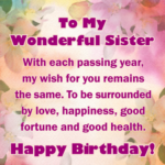 Bday Message For Sister Twitter