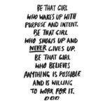 Be The Girl Quotes Tumblr