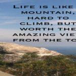 Beautiful Mountain Quotes Facebook