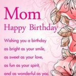 Best Birthday Wishes For Mom Facebook