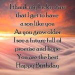 Best Birthday Wishes For Son Tumblr
