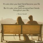 Best Friend Become Life Partner Quotes