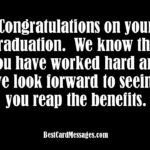 Best Graduation Card Messages