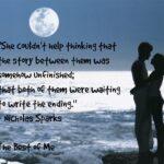 Best Nicholas Sparks Quotes Facebook