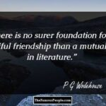 Best Pg Wodehouse Quotes Facebook