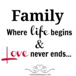 Best Quotes About Family Love Tumblr