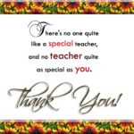 Best Thank You Quotes For Teachers Pinterest