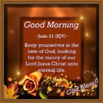 Bible Verses Good Morning Images