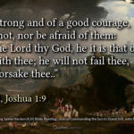 Bible Verses On Strength And Courage Kjv Pinterest