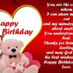 Birthday Message To A Loved One Pinterest