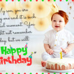 Birthday Wishes For 1 Year Old Son Facebook