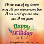 Birthday Wishes For Fiance Twitter