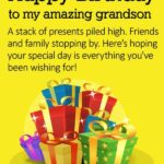 Birthday Wishes For Grandson Twitter