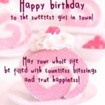 Birthday Wishes For Kid Girl Facebook