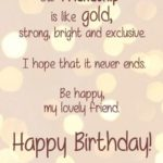 Birthday Wishes Quotes For Friend Pinterest
