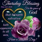 Blessed Thursday Morning Images Pinterest