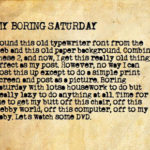 Boring Saturday Quotes Facebook