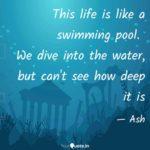 Caption Swimming Pool Tumblr