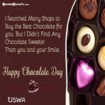 Chocolate Day Msg For Lover Twitter