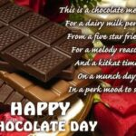Chocolate Day Quotes For Wife Facebook