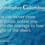 Christopher Columbus Famous Quotes Facebook