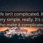 Complicated Life Quotes Facebook