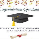 Congratulation Card Graduation Day Twitter