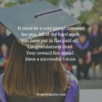 Congratulation Words To A Graduate