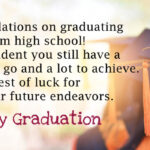 Congratulations High School Graduation Messages Facebook