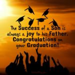 Congratulations Message To Son On Graduation