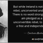 Constance Markievicz Quotes