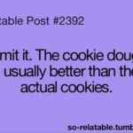 Cookie Dough Quotes Twitter