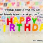 Cute Birthday Wishes For Best Friends Pinterest