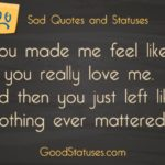 Do You Really Love Me Quotes Facebook