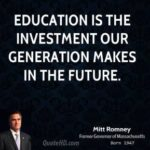 Education Is The Best Investment Quote Facebook